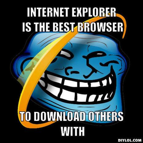 Microsoft se moque de son nouveau navigateur internet | Technologies & web - Trouvez votre formation sur www.nextformation.com | Scoop.it