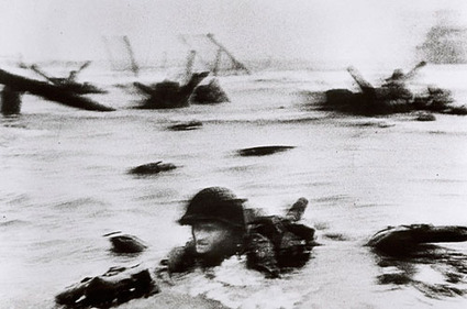 Photographers on Photography: The D-Day Landing and Robert Capa's Slightly Out of Focus Legacy - Imaging Resource | Visual Culture and Communication | Scoop.it