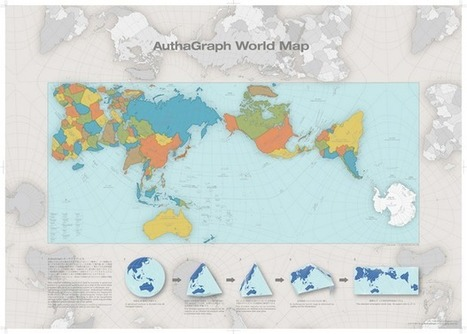 A More Accurate World Map Wins Prestigious Japanese Design Award | Geography & Current Events | Scoop.it