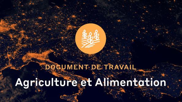 Plan de transformation de l'économie française : Agriculture et alimentation