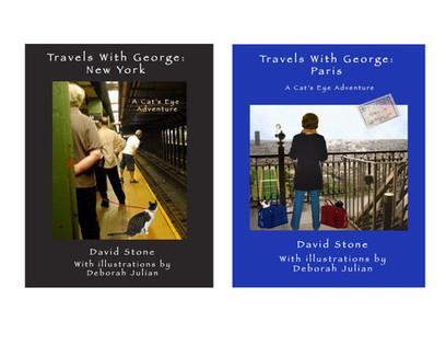 Cat Books – Travels With George | Cat Art | Scoop.it