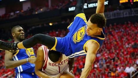 34596030713f Stephen Curry On Game 4 Fall   I Felt Like I Was In The Air For A Long  Time  - I4U News