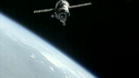 Soyuz capsule docks at Space Station with international astronaut crew | Wonderful world of science | Scoop.it