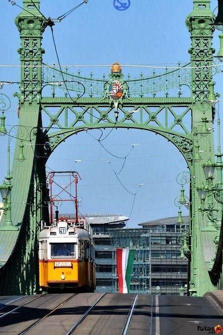 Szabadság híd, Budapest hídjai | budapesti | Scoop.it
