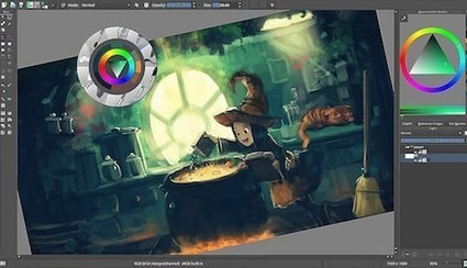 Krita : logiciel gratuit pour le dessin et la retouche photo | DIGITAL NEWS & co | Scoop.it