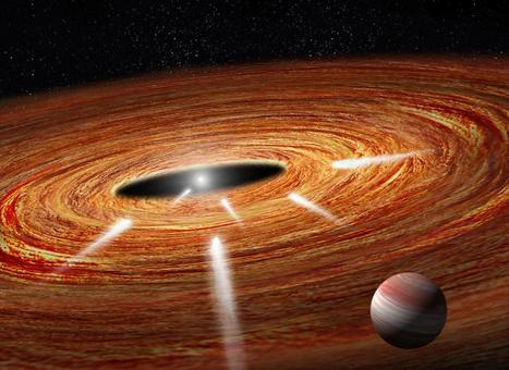 Hubble detects 'exocomets' taking the plunge into a young star | Amazing Science | Scoop.it