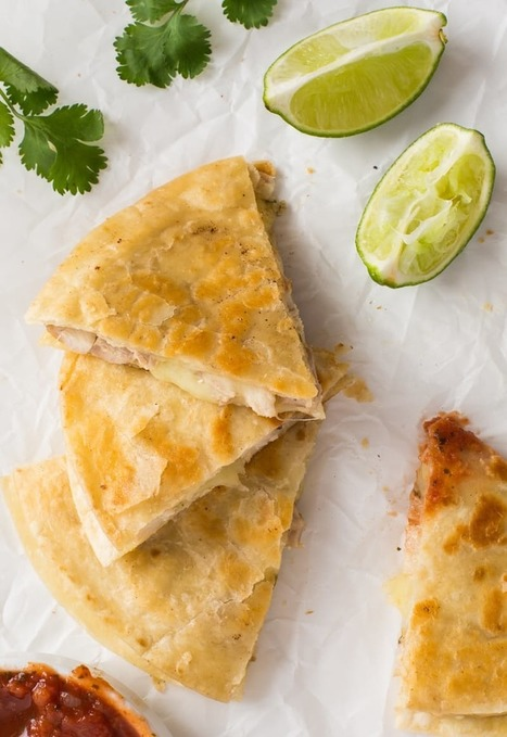 Recipe: Cilantro-Lime Chicken Quesadillas  — Recipes from The Kitchn | ♨ Family & Food ♨ | Scoop.it