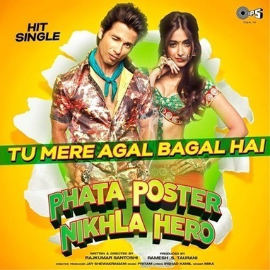 Hey mr dj lets go bananas phata poster nikla hero shahid.