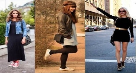 Vestido com tênis ou botas: dicas | Notícias | Scoop.it