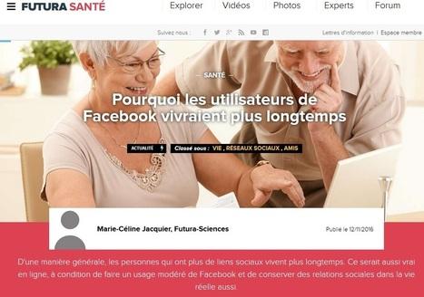 Article du jour (260) : Pour vivre plus longtemps !   Charentonneau   Scoop.it