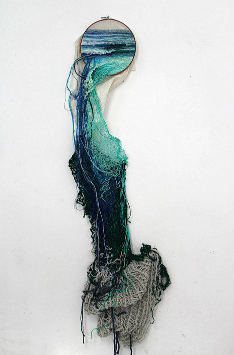 Artist Creates Landscape Embroidery Art That Leaps Out Of Its Frames | Arte y Cultura en circulación | Scoop.it