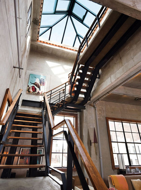TrendHome: Penthouse Duplex Loft [New York ] | Raw and Real Interior Design | Scoop.it