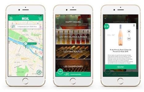KOL : le caviste ambulant qui livre vins et spiritueux en moins de 30' | Verres de Contact | Scoop.it