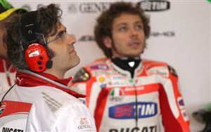 Ducati boss not surprised Valentino Rossi rejected 2013 offer | MCN | Ductalk Ducati News | Scoop.it