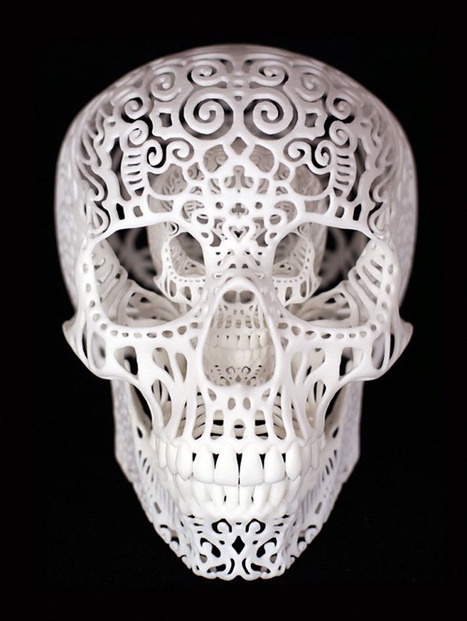 Sweet & Spooky #3DPrint'ing with @thesugarlab & @JoshuaHarker | #Design | Scoop.it
