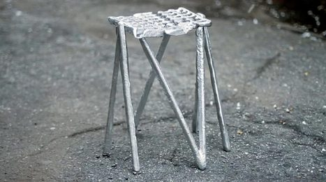 Can City: Aluminum Stools Made from City Waste - Organic Connections | Environmental Innovation | Scoop.it