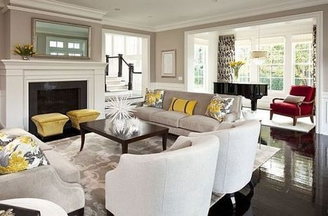 Garden-Inspired Living Room Ideas | Design | News, E-learning, Architecture of the future at news.arcilook.com | Architecture e-learning | Scoop.it