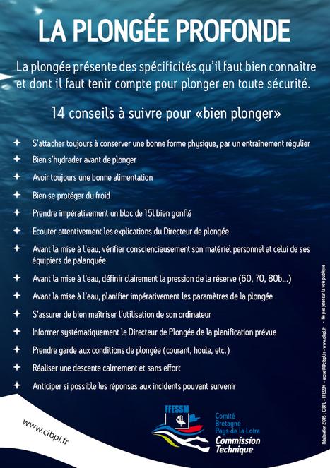 Campagne de prévention sur la plongée profonde   Moi, je plonge à l'Ouest !   Scoop.it
