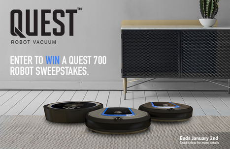 Hoover Quest 700 Robot Vacuum Sweepstakes | Robots and Robotics | Scoop.it