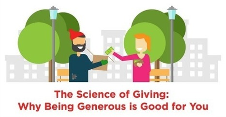 INFOGRAPHIC: The Science Behind Why Giving is Good for You | Mental Health & Emotional Wellness | Scoop.it