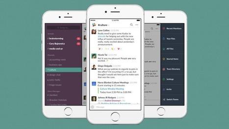Comment maîtriser Slack et convaincre vos collègues de l'utiliser | Éducation, TICE, culture libre | Scoop.it