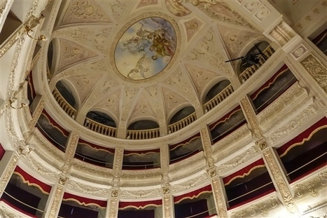 Amandola Theatre - Teatro La Fenice Through The Eyes of Baldhiker | Hideaway Le Marche | Scoop.it