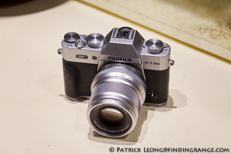 Fuji X T20 And Xf 50mm F2 R Wr Lens Arrive Fu