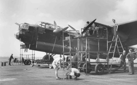 The RAF bombers of the Second World War | 460 Squadron - Bomber Command: 1942-45 | Scoop.it