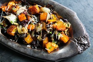 Roasted Butternut Squash, Radicchio, and Onion | À Catanada na Cozinha Magazine | Scoop.it