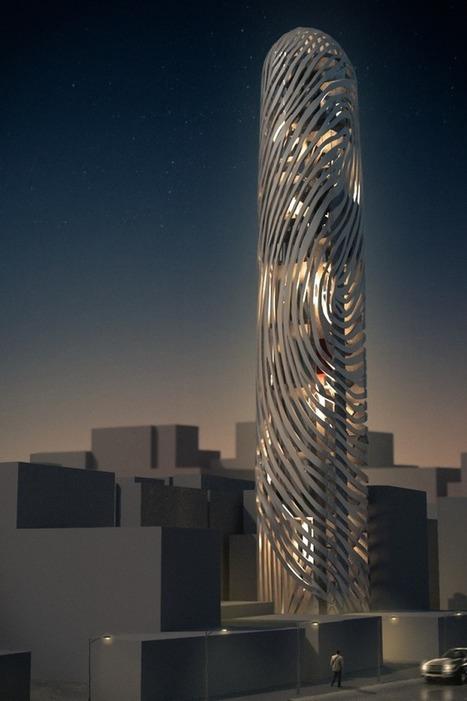 Moon Hoon designs fingerprint tower in Seoul, Korea | Blog Paris - Seoul | Scoop.it