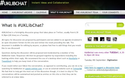 Findings of a Survey onTweetchats by @briankelly | eLearning tools | Scoop.it