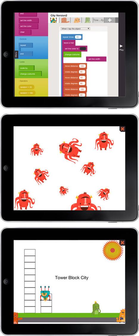 Apprenez à vos enfants à coder sur iPad avec Hopscotch !   Pédagogie hacker   Scoop.it