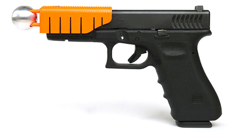 This Clip-on Handgun Attachment Makes Bullets Non-Lethal | News we like | Scoop.it