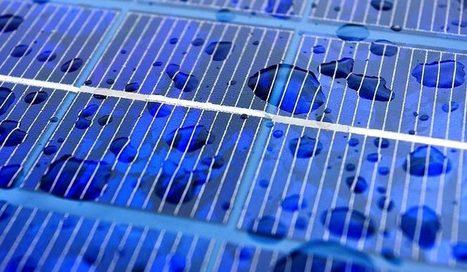 Ces panneaux solaires génèrent du courant avec la pluie | Notre planète | Scoop.it