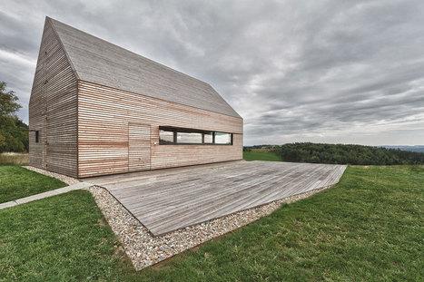 Summer house : architecte Judith Benzer   Ageka les matériaux pour la construction bois.   Scoop.it