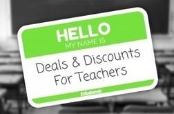 A Huge List of Teacher Deals For You! | Teaching Now | Scoop.it