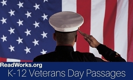 ReadWorks.org | Veterans Day Passages | CCSS News Curated by Core2Class | Scoop.it