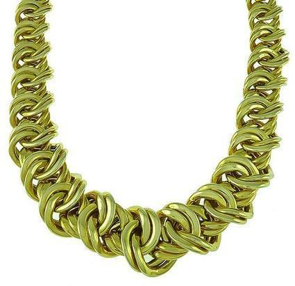 Beautiful Design of 14k Yellow Gold Necklace | Social Media Marketing | Scoop.it