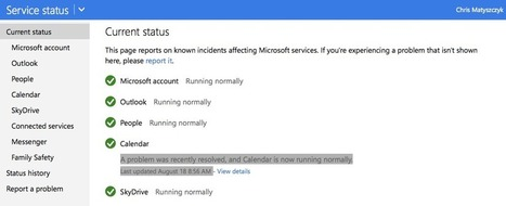 Google, Microsoft outages: Two different outlooks? | Educational Technology - Yeshiva Edition | Scoop.it