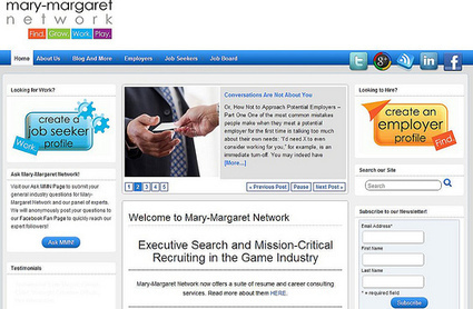 Promote4you: Executive Search and Mission-Critical Recruiting in the Game Industry..welcome by mary-margaret Network | Promote4you | Scoop.it