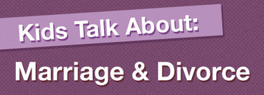 Kids Talk About: Marriage and Divorce (Video) | marriage | Scoop.it