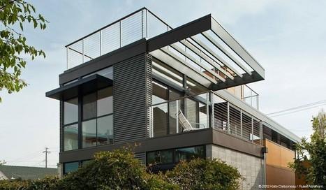 Net Zero Prefab Prototype in Emeryville by Simpatico Homes | tecnologia s sustentabilidade | Scoop.it