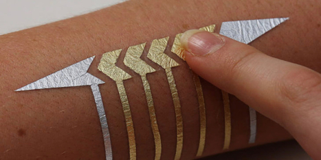 New Smart Tattoos Let You Control Your Mobile Phone Using Your Skin | Amazing Science | Scoop.it