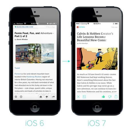 How iOS 7 helped us to rethink the Zite user experience | RSS Circus : veille stratégique, intelligence économique, curation, publication, Web 2.0 | Scoop.it