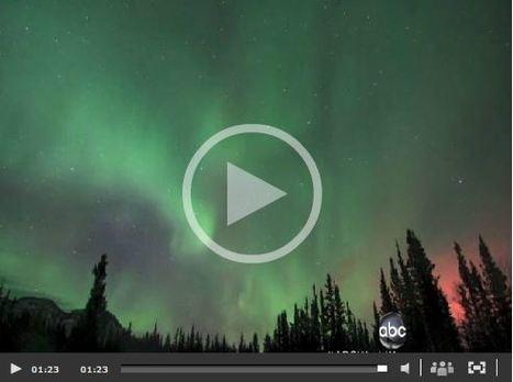 Night Sky Comes Alive With Aurora Borealis | Go Geo | Scoop.it