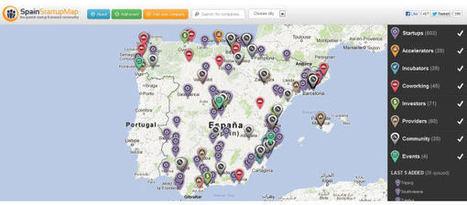 Spain Startup Map: el mapa de la comunidad emprendedora en España < Artículos en Baquía < Baquía, Nuevas tecnologías y negocios | The digital tipping point | Scoop.it