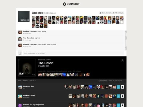 Soundrop Spotify App Drops New Version, Making It Easier to Listen with Friends | Music business | Scoop.it