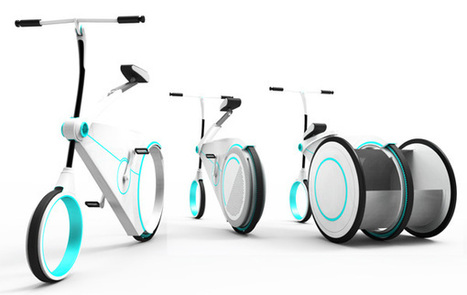 Smart City Bike by Yo-Hwan Kim » Yanko Design | Urban planning and sustainable mobility | Scoop.it