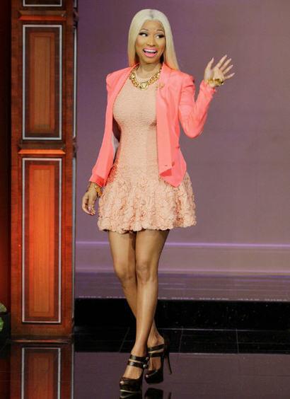 Nicki Minaj 's Christian Louboutin Daffodile He