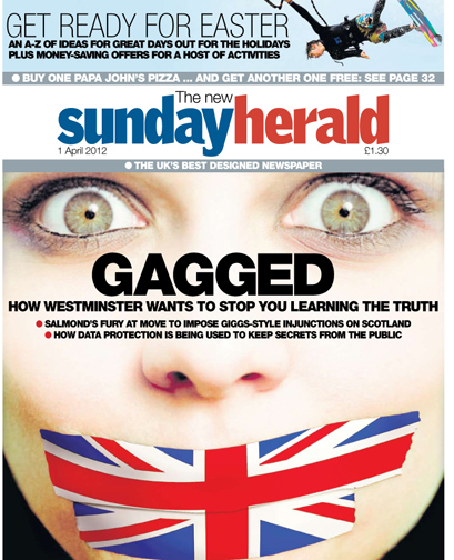 This week's @newsundayherald front cover | Referendum 2014 | Scoop.it